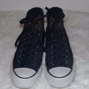 Converse All Star Blue High Top Sneakers Sz. 9.5